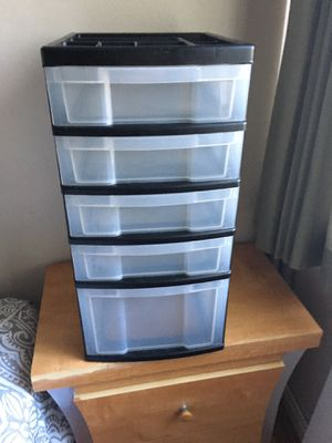 5 drawer plastic storage for Sale in Los Angeles, CA