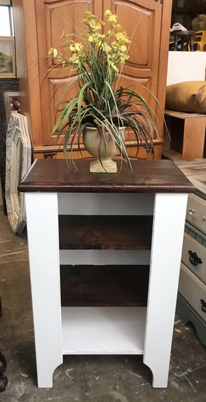 Rustic Farmhouse Bookcase Shelf Display Cabinet Solid Wood for Sale in Alpine, CA