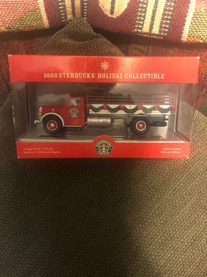 2003 Collector Edition Starbucks Vintage Truck! for Sale in San Jose, CA