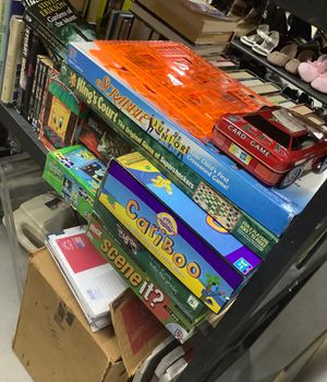 Assorted games and puzzles for Sale in Davie, FL