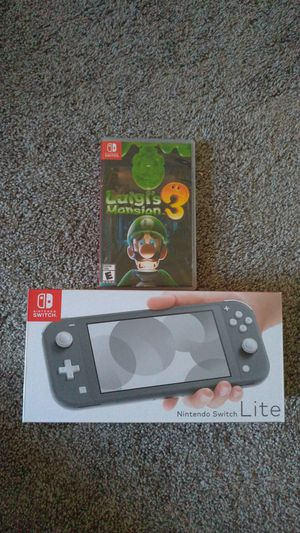 Brand New Nintendo Switch System with Luigi's Mansion Game for Sale in Chula Vista, CA
