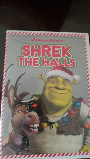 Shrek the halls dvd christmas xmas for Sale in Fort Lauderdale, FL