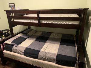 Bunk bed twin over queen for Sale in McLean, VA