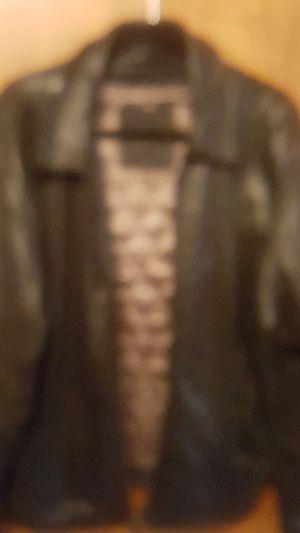 Men's leather jacket like new for Sale in Detroit, MI