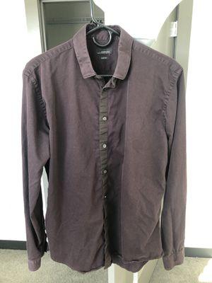 Zara Men's Pure Cotten Shirt *Lightly Worn* Size L for Sale in Boston, MA