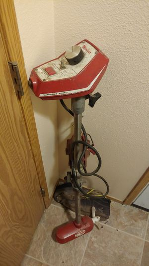 Antique outboard trolling motor electric works great for Sale in Portland, OR