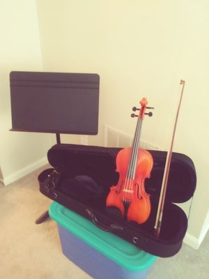 Violin, Case, and Stand for Sale in Odenton, MD