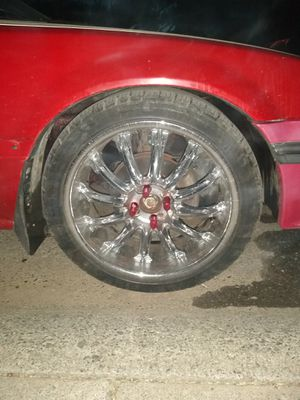 """18"""" rims and tires for sale for Sale in Willows, CA"""