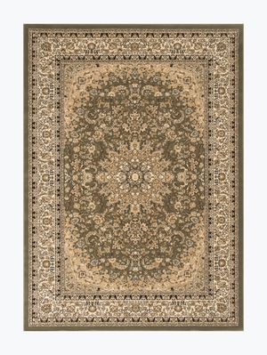 8/10 sage green thick Rug for Sale in Beverly Hills, CA