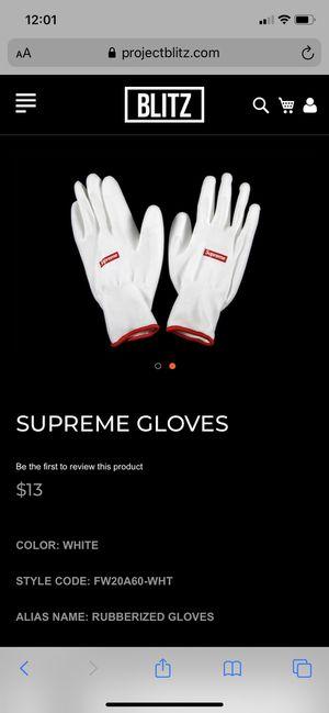 Brand new supreme gloves $15 for Sale in Davie, FL