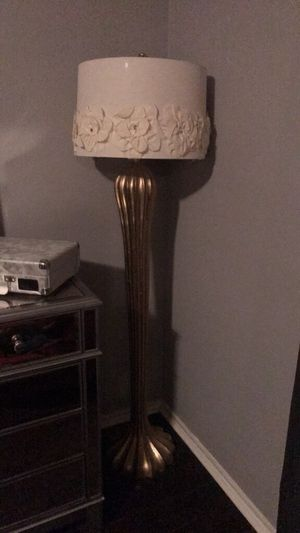 Set of 3 gold lamps for Sale in San Antonio, TX