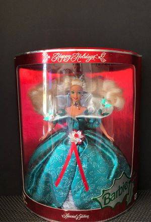 New Mattel Barbie   Happy Holidays   Collector's Special Edition   Vintage Doll for Sale in Suffolk, VA