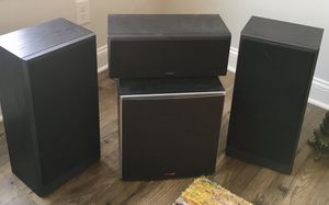 Polk Audio Set of Speakers for Cabinet for Sale in Apex, NC