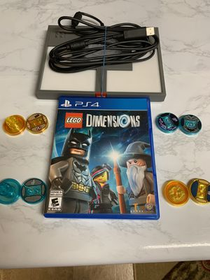 LEGO dimensions ps4 with 2 level packs for Sale in Phoenix, AZ
