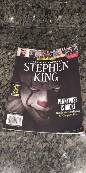 Stephen King: Pennywise magazine E! for Sale in Gaithersburg, MD