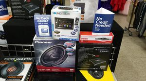 Double-din Stereo with Pioneer Subwoofer System for Sale in Las Vegas, NV
