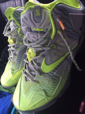 Nike lebron shoes good condition size 11 will fit 10-11 for Sale in Camden Wyoming, DE
