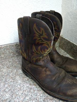 Justin work boots for Sale in Wichita, KS
