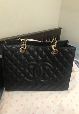 Chanel tote bag caviar leather for Sale in Los Angeles, CA