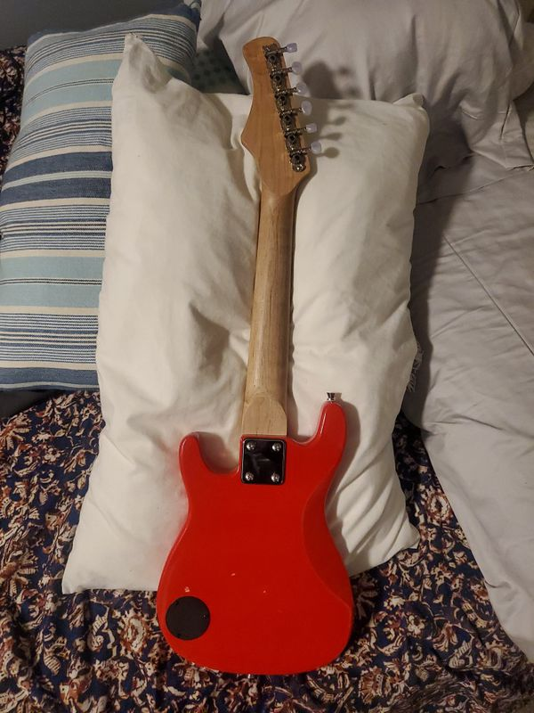 Mini Electric Guitar With AMP AND CORD