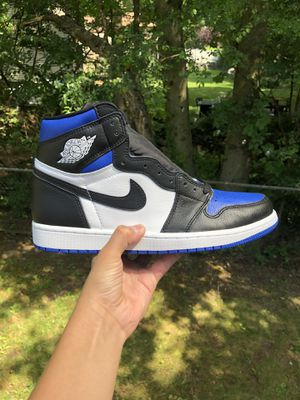 Jordan 1 royal toe for Sale in Ridgefield, NJ