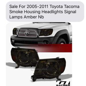 Toyota Tacoma 05-11 new Smoke Headlights for Sale in Hayward, CA