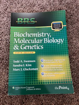 Board Review Series Biochemistry, Molecular Biology and Genetics for Sale in Charleston, WV