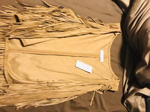 Abercrombie & Fitch fringe vest for Sale in Greensboro, NC