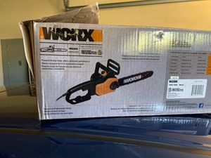 "Chain saw WORKX 14"" for Sale in Pflugerville, TX"