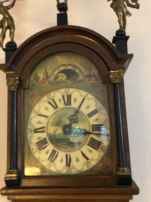 Antique Early 19th century original Frisian tail clock for Sale in Jurupa Valley, CA