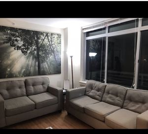 Sofa, light , tables for Sale in Annandale, VA