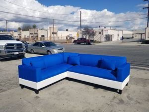 NEW 7X9FT SEA MICROFIBER COMBO SECTIONAL COUCHES for Sale in Santa Ana, CA