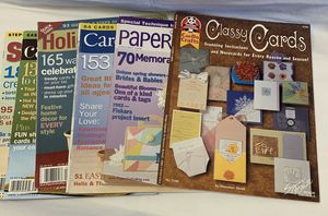 Six card making magazines for Sale in Fredonia, KS