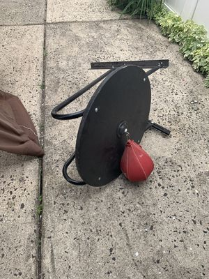 Boxing Speed Bag with Platform for Sale in Queens, NY