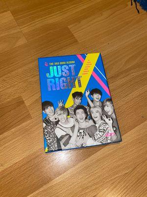 GOT7 JUST RIGHT mini ALBUM for Sale in San Jose, CA