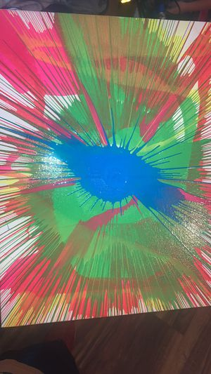 Custom spin art paintings for Sale in Sidney, NY