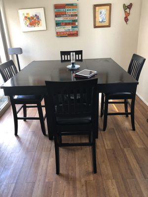 Counter Height - Black Lacquer Kitchen Set for Sale in San Diego, CA