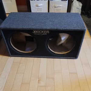 Dual 12 Sub Box for Sale in Hyattsville, MD