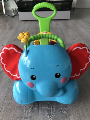 Fisher-Price 3-in-1 Bounce, Stride and Ride Elephant for Sale in Federal Way, WA