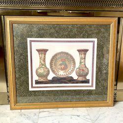 Windsor Frames Art Of Oriental Vases for Sale in Kent,  WA