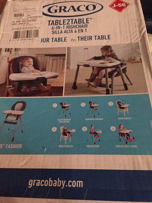 Brand New Graco High Chair for Sale in Pleasanton, CA