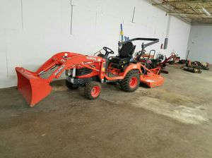 Backhoe and brush hog for Sale in Dallas, TX
