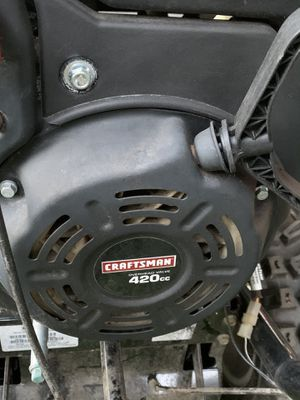 Craftsman 420 cc in very good condition only used few time for Sale in Methuen, MA