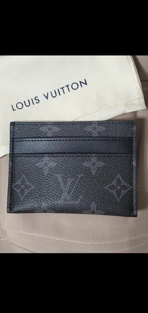 💥NWT Men's Louis Vuitton Eclipse Monogram Card Holder LV for Sale in Queens, NY