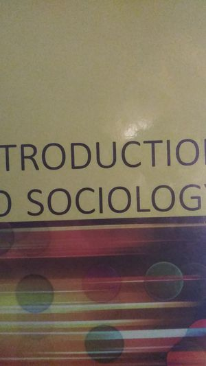 Intro to Sociology 2e for Sale in New Britain, CT