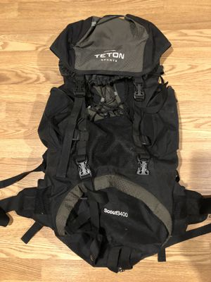 40L Teton Sports backpacking backpack for Sale in Washington, DC