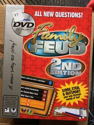 Family feud second edition DVD edition game for Sale in Lebanon, TN