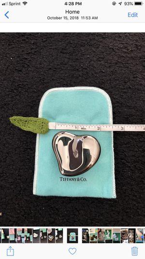 """Tiffany """"Elsa Perretti """" silver heart box for Sale in Palm Harbor, FL"""