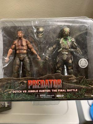 NECA Dutch vs Predator 2pk for Sale in St. Petersburg, FL