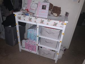 Baby changing table for Sale in Tustin, CA